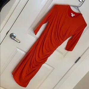 Helmut Lang Dresses - Helmut Lang ruched mini dress